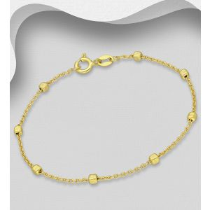 925 Sterling Silver Box Bracelet