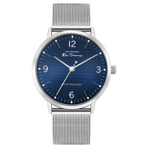Ben Sherman Silver Strap with stainless steel mesh strap Dial