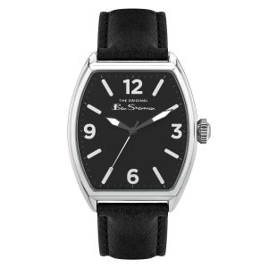 Ben Sherman Black Strap with Pu Strap Dial