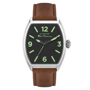 Ben Sherman Brown Strap with Pu Strap Dial