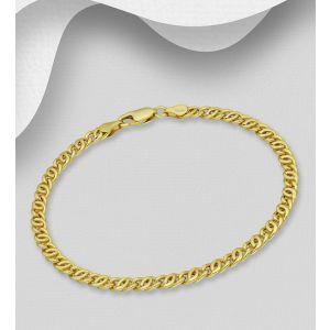 925 Sterling Silver Curb Bracelet