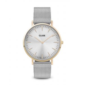 La Bohème Mesh Gold Silver Watch
