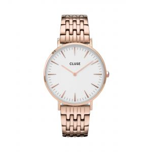 La Bohème Multi-Link Rose Gold White/Rose Gold Watch