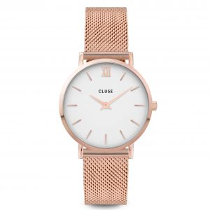 Minuit Mesh Rose Gold White/Rose gold Watch