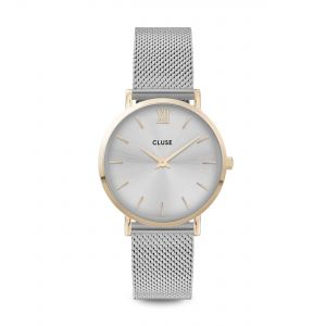 Minuit Mesh Gold Silver Watch