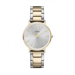 Minuit 3-Link Gold Silver/Gold/Silver Watch
