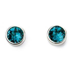 Beginnings December Birthstone Earrings