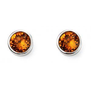 Beginnings November Birthstone Earrings