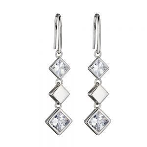 Fiorelli Square Cubic Zirconia Earrings