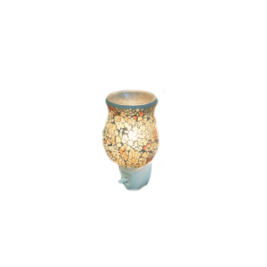 Golden Tulip Mosaic Wax Burner
