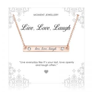 Moment Jewellery Live, Love, Laugh