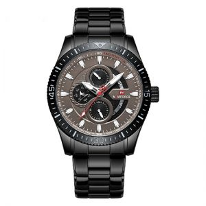 Naviforce Stainless Steel Multi-function Quatz Watch