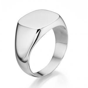 Fred Bennett Rounded edge square signet ring