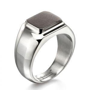 Fred Bennett Brushed square ring