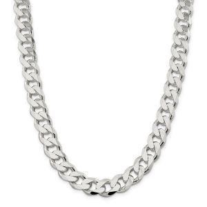 """Silver 20"""" Curb Chain"""
