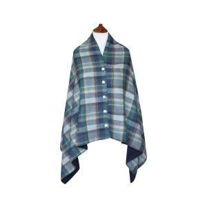 Tweed Wrap- Cloudburst Tweed
