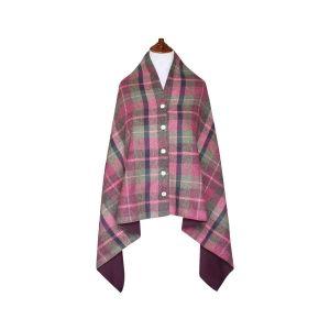 Tweed Wrap- Hawthorn Tweed