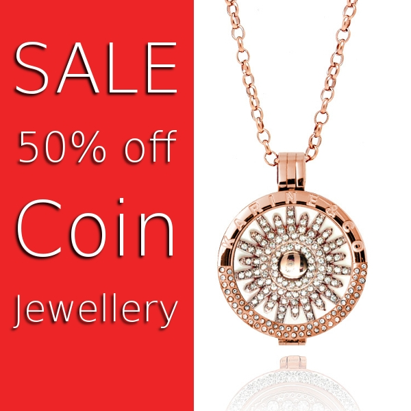 Sale 50% off Coin Jewellery